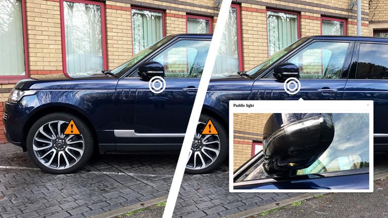 Marcado interactivo de vehículos